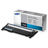 Genuine Samsung CLT-C406S Cyan Toner Cartridge