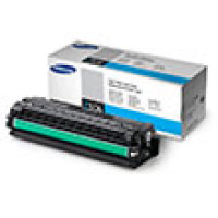 Genuine Samsung CLT-C506S Cyan Toner Cartridge