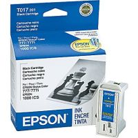 New Original Epson T017201 Black Ink Cartridge