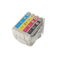 Epson T069 - 4 Color Ink Cartridge Set, Remanufactured BCMY Combo