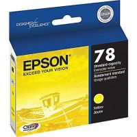 New Original Epson T078420 Yellow Ink Cartridge