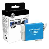 EPSON T125 Cyan Remanufactured Ink Cartridge (T125220)