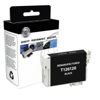 EPSON T126 Black High Yield Remanufactured Ink Cartridge (T126120)