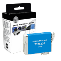 EPSON T126 Cyan High Yield Remanufactured Ink Cartridge (T126220)
