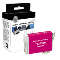 EPSON T126 Magenta High Yield Remanufactured Ink Cartridge (T126320)
