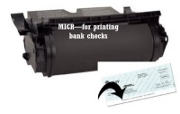 OEM Equivalent ibm735 Micr toner cartridge-for printing BANK CHECKS