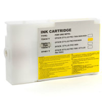 Epson T545400 Dye Yellow Remanufactured Ink Cartridge