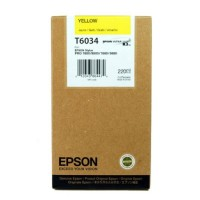 New Original Epson T603400 Pigment Yellow Ink Cartridge