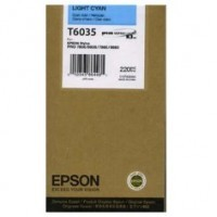 New Original Epson T603500 Pigment Light Cyan Ink Cartridge