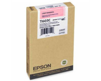 New Original Epson T603C00 Pigment Light Magenta Ink Cartridge