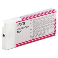 New Original Epson T606300 Pigment Magenta Ink Cartridge