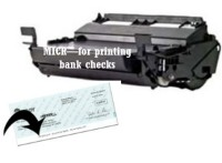 T610 MICR Remanufactured Toner Cartridge for printing BANK CHECKS