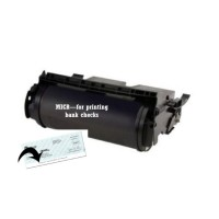 Lexmark 12A6765 MICR High Yield Remanufactured Toner  (15,000 Yield)