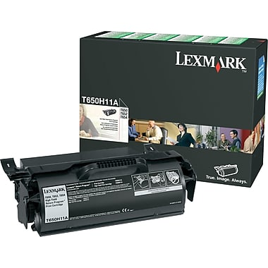 Genuine Lexmark T650H11A Black High Yield Toner Cartridge