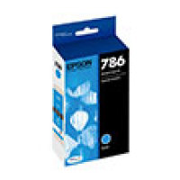 Genuine EPSON T786 Cyan Ink Cartridge (T786220)