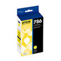 Genuine EPSON T786 Yellow Ink Cartridge (T786420)