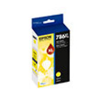 Genuine EPSON T786XL Yellow Ink Cartridge (T786XL420)