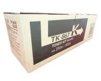 Genuine Kyocera TK-867K Black Toner Cartridge