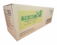 Genuine Kyocera TK-867Y Yellow Toner Cartridge