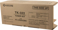 Genuine Kyocera TK322 Black Toner Cartridge