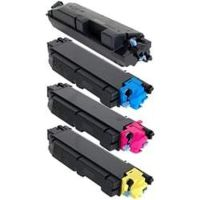 Kyocera TK5142 Compatible - 4 Color Toner Cartridge Set