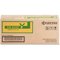 New Original Kyocera TK5142Y Yellow Toner