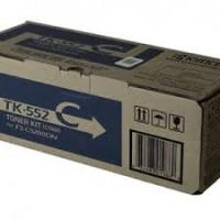 Genuine Kyocera TK552C Cyan Toner Cartridge