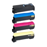 Kyocera TK592 Compatible - 4 Color Toner Cartridge Set