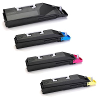 Kyocera TK867 Compatible - 4 Color Toner Cartridge Set