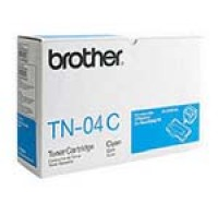 Genuine Brother TN04 Cyan Toner Cartridge