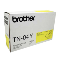 Genuine Brother TN04 Yellow Toner Cartridge
