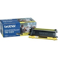 Genuine Brother TN115 Yellow Toner Cartridge