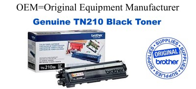TN210BK Black Genuine Brother toner