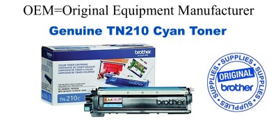 TN210C Cyan Genuine Brother toner