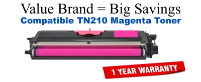 TN210M Magenta Compatible Value Brand toner