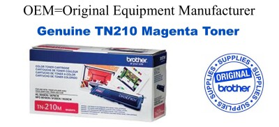 TN210M Magenta Genuine Brother toner