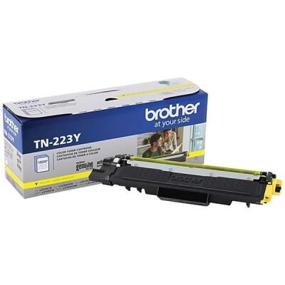 Genuine Brother TN223Y Yellow Toner