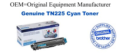 TN225C Cyan Genuine Brother toner