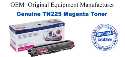 TN225M Magenta Genuine Brother toner