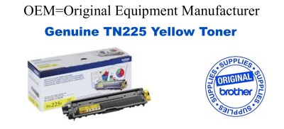 TN225Y Yellow Genuine Brother toner