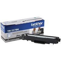 Genuine Brother TN227BK Black High Yield Toner
