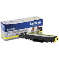 Genuine Brother TN227Y Yellow High Yield Toner