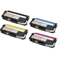 Brother TN315 Remanufactured Toner Set (Black, Cyan, Magenta, Yellow)