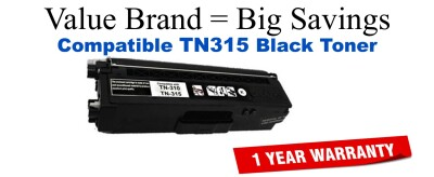 Brother TN315 Black Remanufactured Toner Cartridge