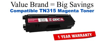 Brother TN315 Magenta Remanufactured Toner Cartridge