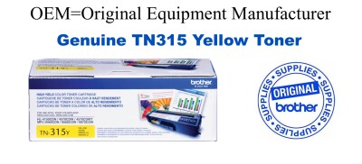 TN315Y Yellow Genuine Brother toner