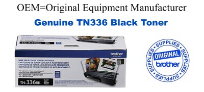 TN336BK Black Genuine Brother toner