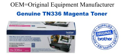 TN336M Magenta Genuine Brother toner