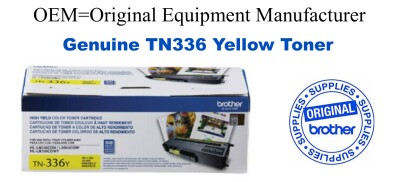 TN336Y Yellow Genuine Brother toner