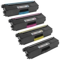Brother TN339 High Yield Remanufactured Toner Set (Black, Cyan, Magenta, Yellow)